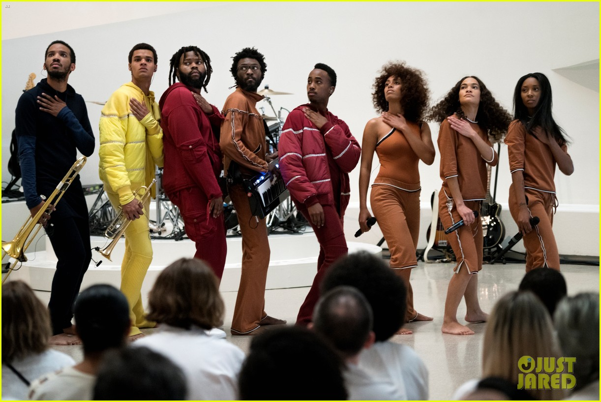 solange knowles guggenheim performance 483901698