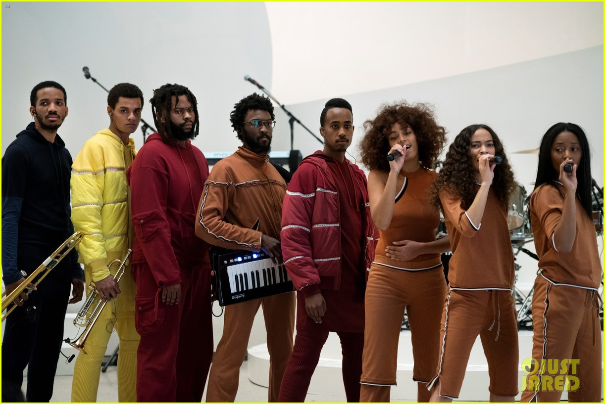solange knowles guggenheim performance 493901699