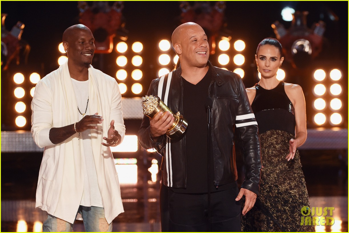 fast furious cast mtv movie tv awards 033896260