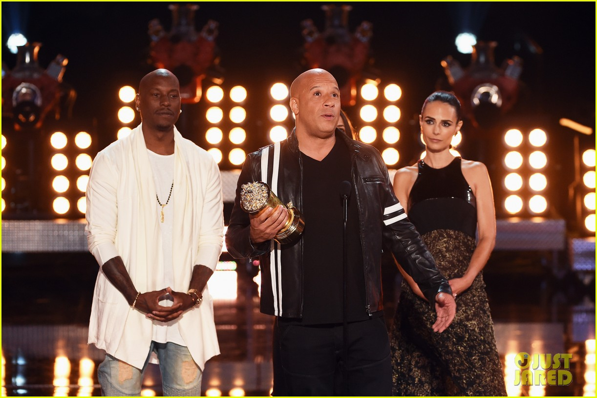 fast furious cast mtv movie tv awards 063896263