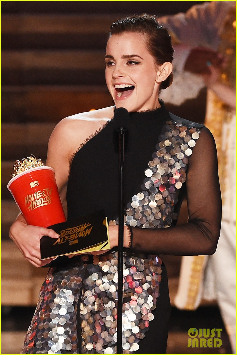 emma watson mtv movie tv awards 073896214