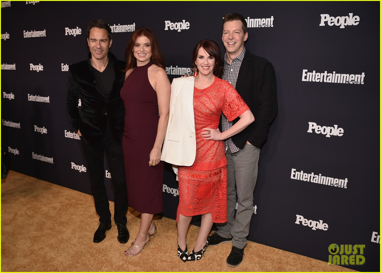 will grace cast ew people upfronts party 033899390