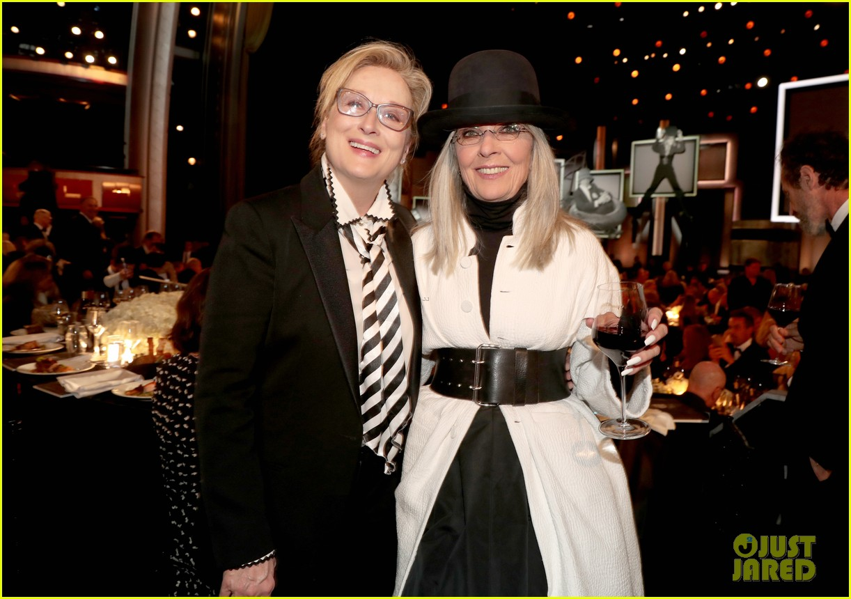 Woody allen makes rare appearance to honor diane keaton at afi gala woody allen makes rare appearance to honor diane keaton at afi gala tribute m4hsunfo