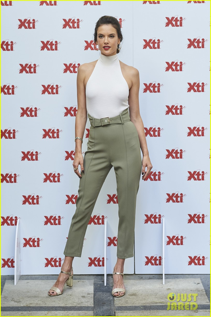 alessandra ambrosio hits madrid for xti shoes summer collection launch 043908380