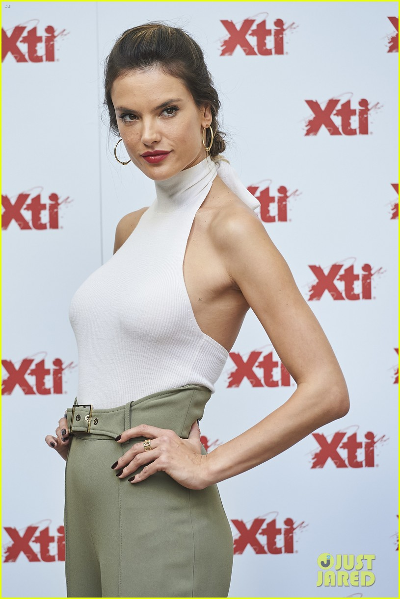 alessandra ambrosio hits madrid for xti shoes summer collection launch 073908383