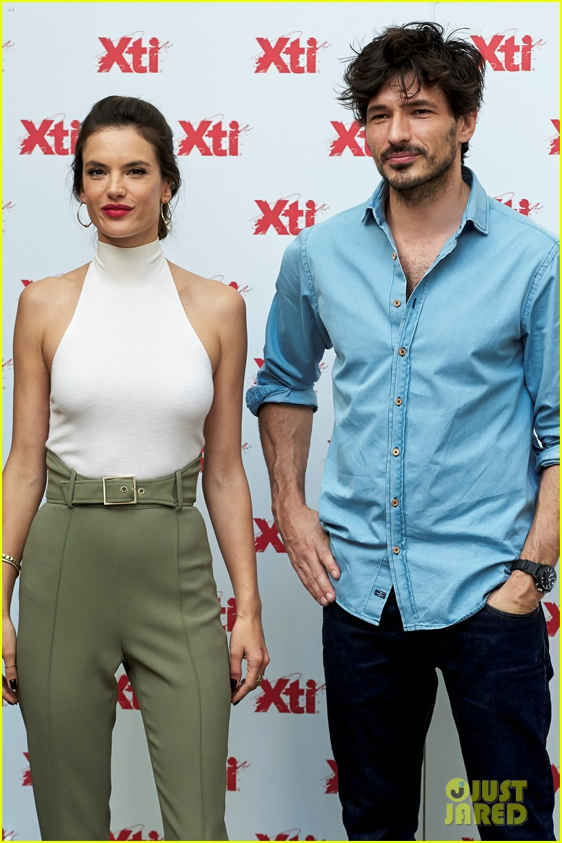 alessandra ambrosio hits madrid for xti shoes summer collection launch 143908390