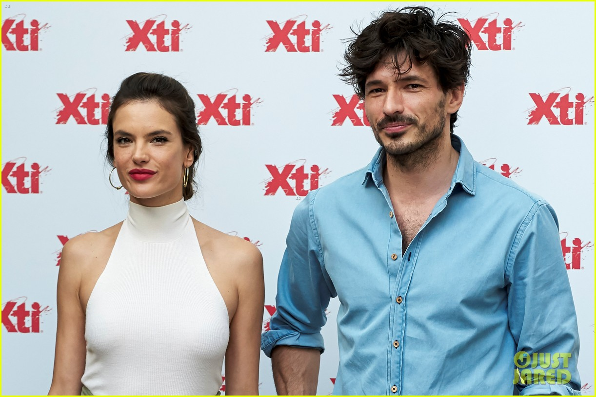 alessandra ambrosio hits madrid for xti shoes summer collection launch 173908393