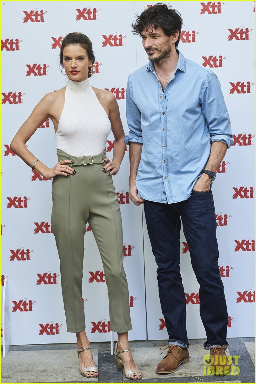 alessandra ambrosio hits madrid for xti shoes summer collection launch 213908397