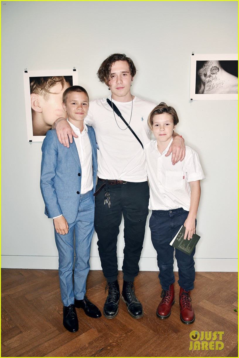 brooklyn beckham book launch 053920805