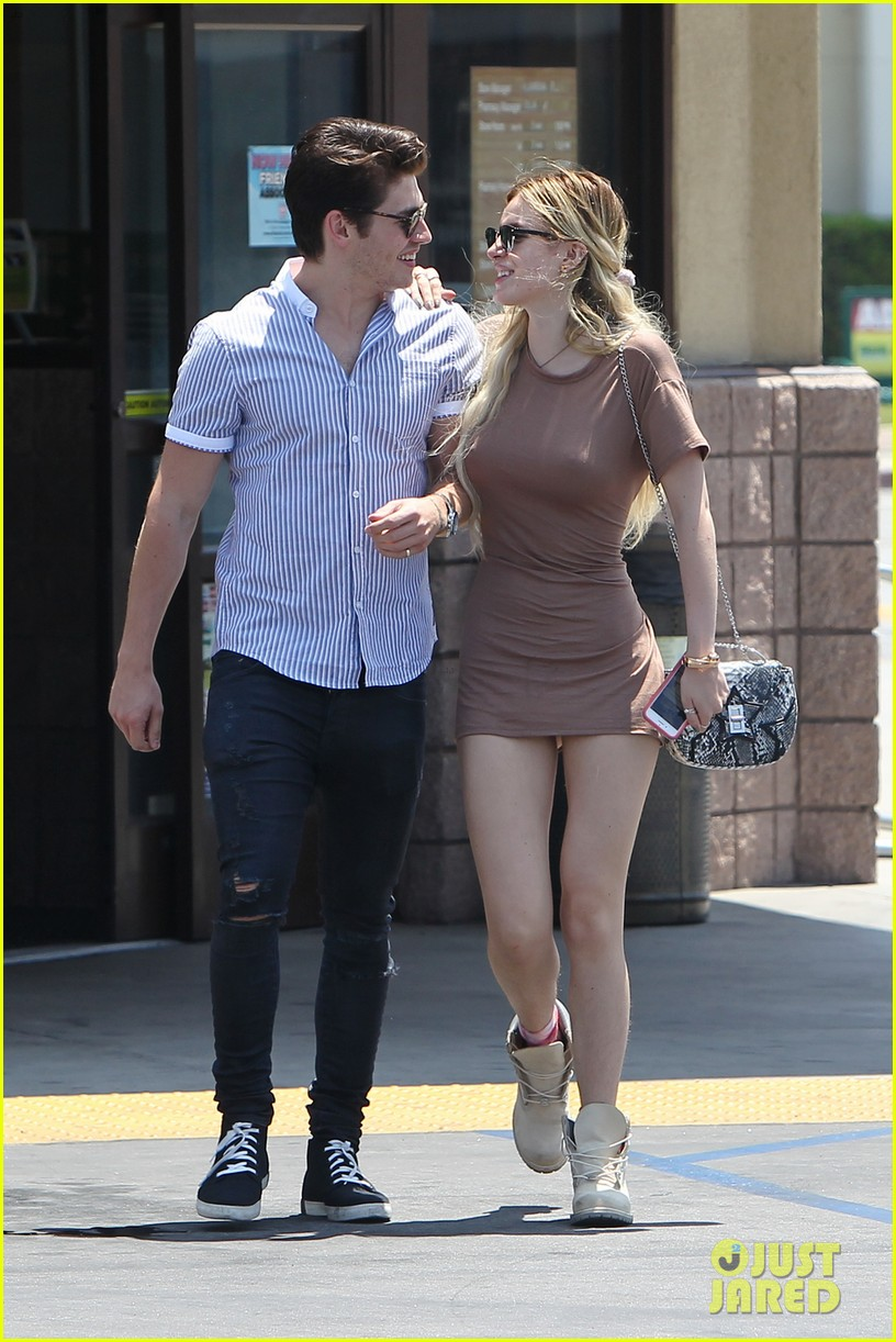 bella thorne gregg sullkin spend monday together 033909500