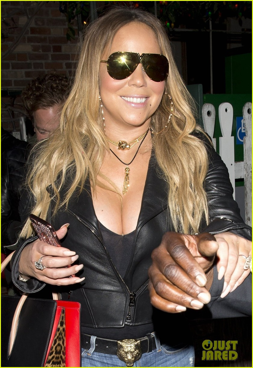 Mariah Carey Grabs a Sushi Dinner in Los Angeles: Photo 3911641 ...