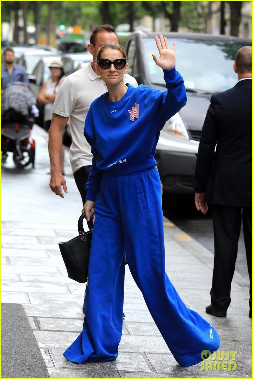 celine dion bold fashion choice in paris 013920849