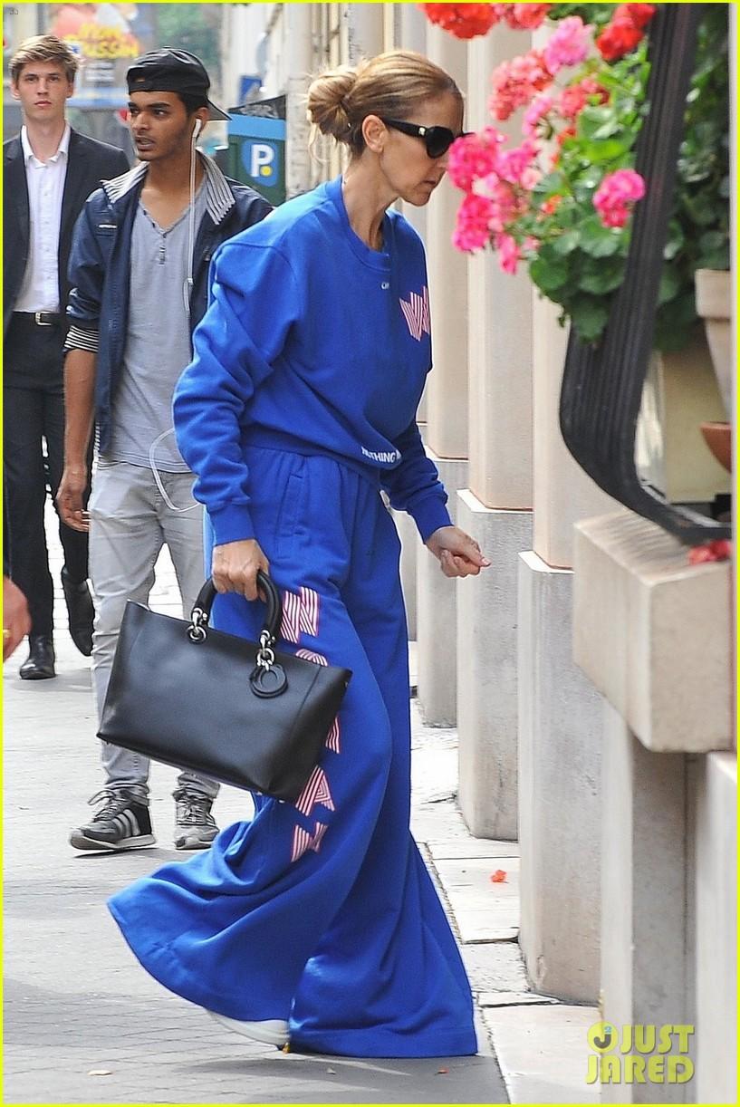 celine dion bold fashion choice in paris 033920851