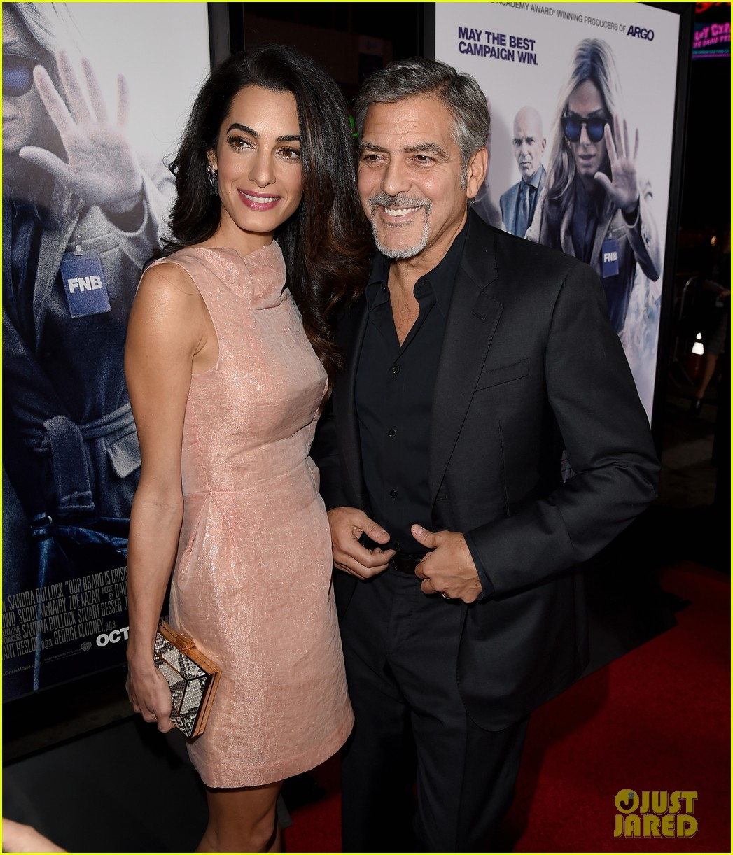 George Amal Clooney Welcome Twins Find Out Their Names Photo