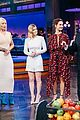 james corden fires fruit at lily james iggy azalea kate mara with flinch 04
