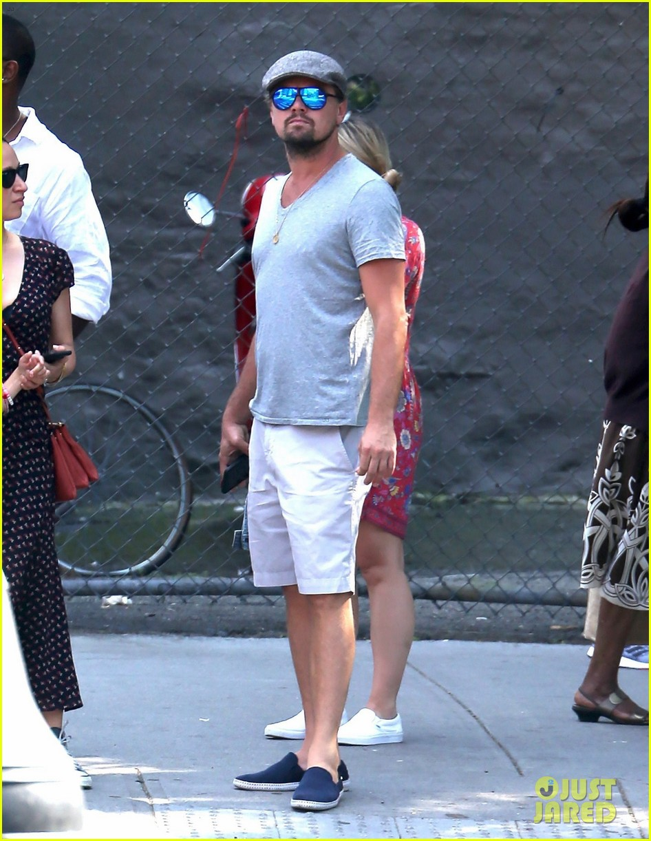 leonardo dicaprio hangs out with jennifer meyer 013914161