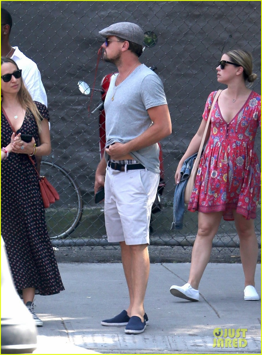 leonardo dicaprio hangs out with jennifer meyer 053914165