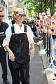 celine dion rocks leather overalls while out in paris04