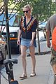 kirsten dunst keeps a profile while out in nyc01