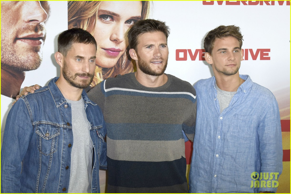 scott eastwood continues overdrive promo tour in berlin 103917598