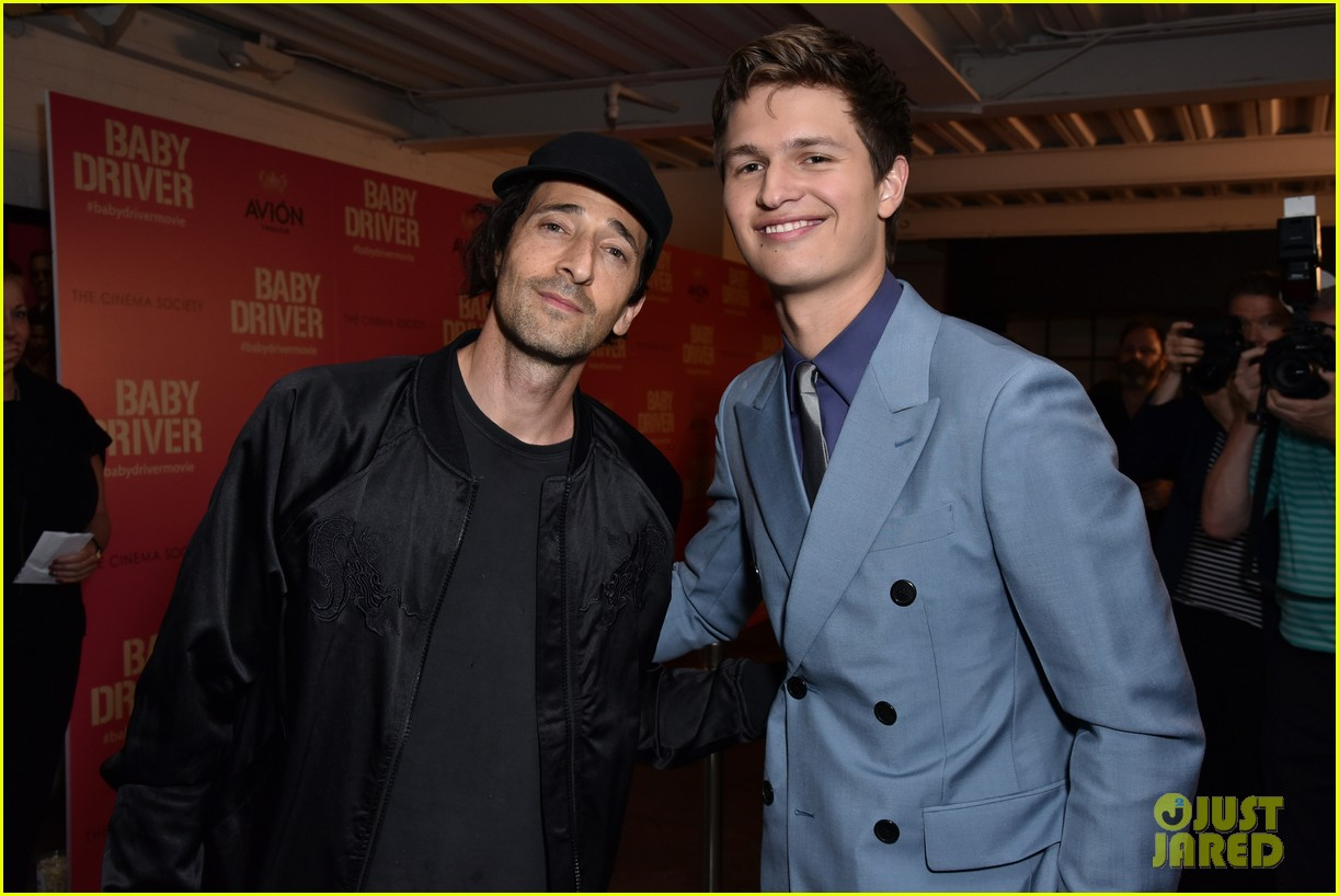 ansel elgort gets star studded support at baby driver nyc screening 103920501