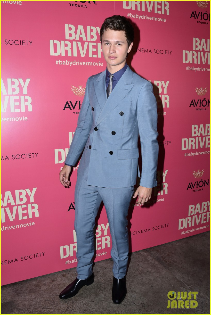 ansel elgort gets star studded support at baby driver nyc screening 193920510