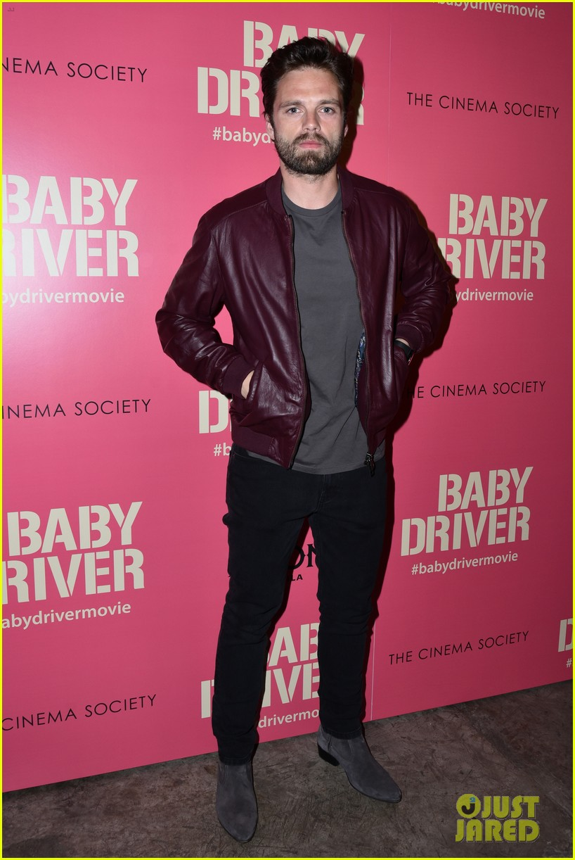 ansel elgort gets star studded support at baby driver nyc screening 433920534