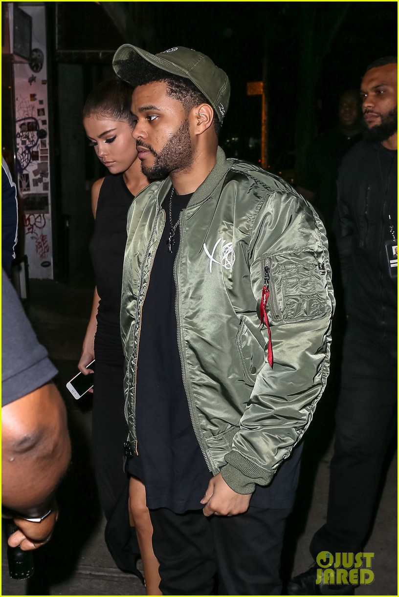 selena gomez wears sheer dress for date with the weeknd 043910401