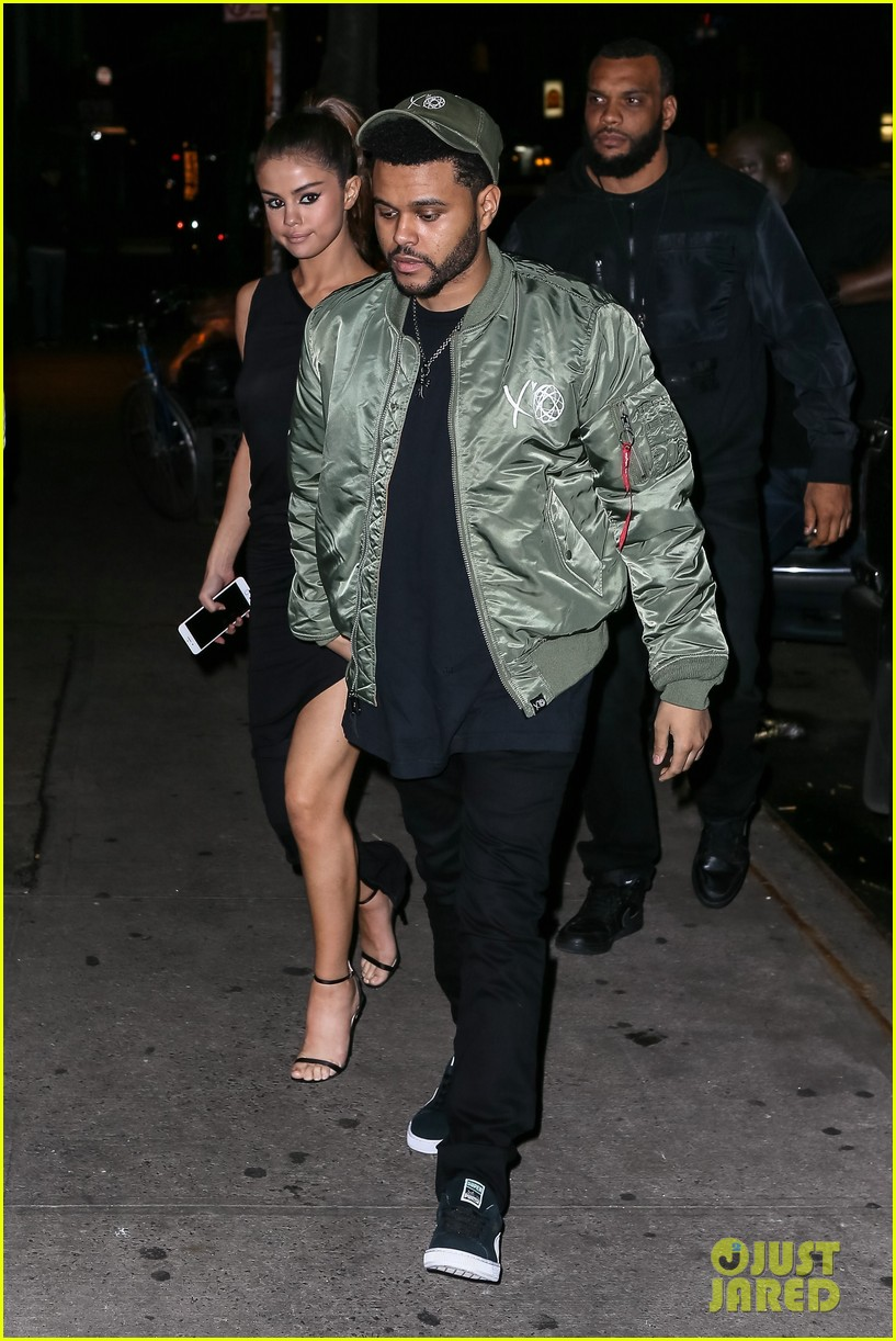 selena gomez wears sheer dress for date with the weeknd 353910432