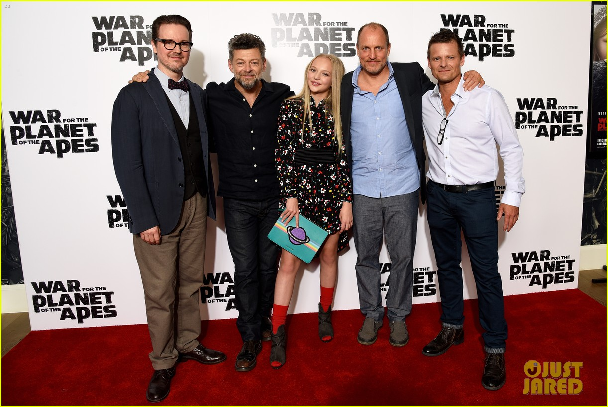 woody harrelson andy serkis bring war for the planet of the apes to london 033916848