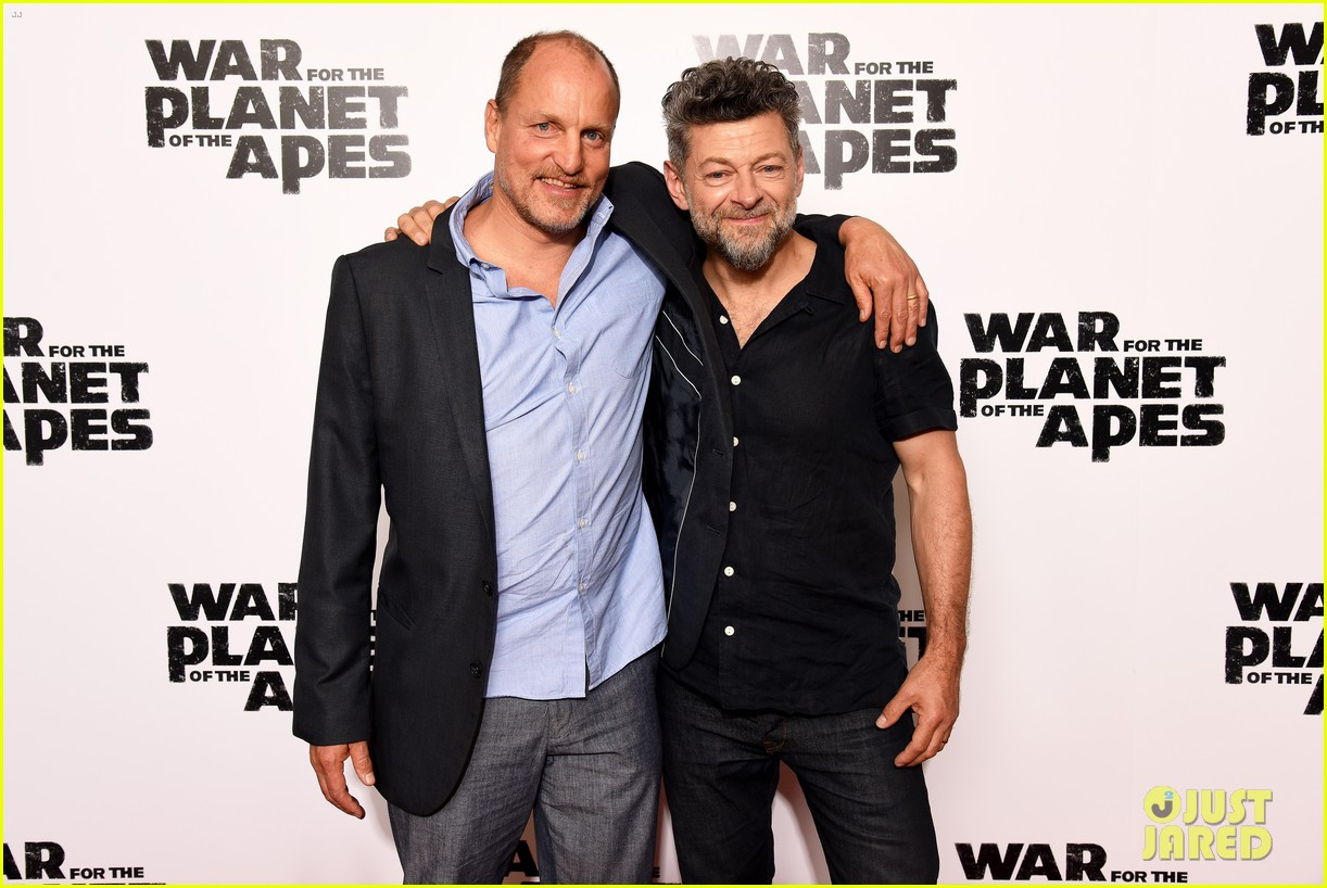 woody harrelson andy serkis bring war for the planet of the apes to london 053916850