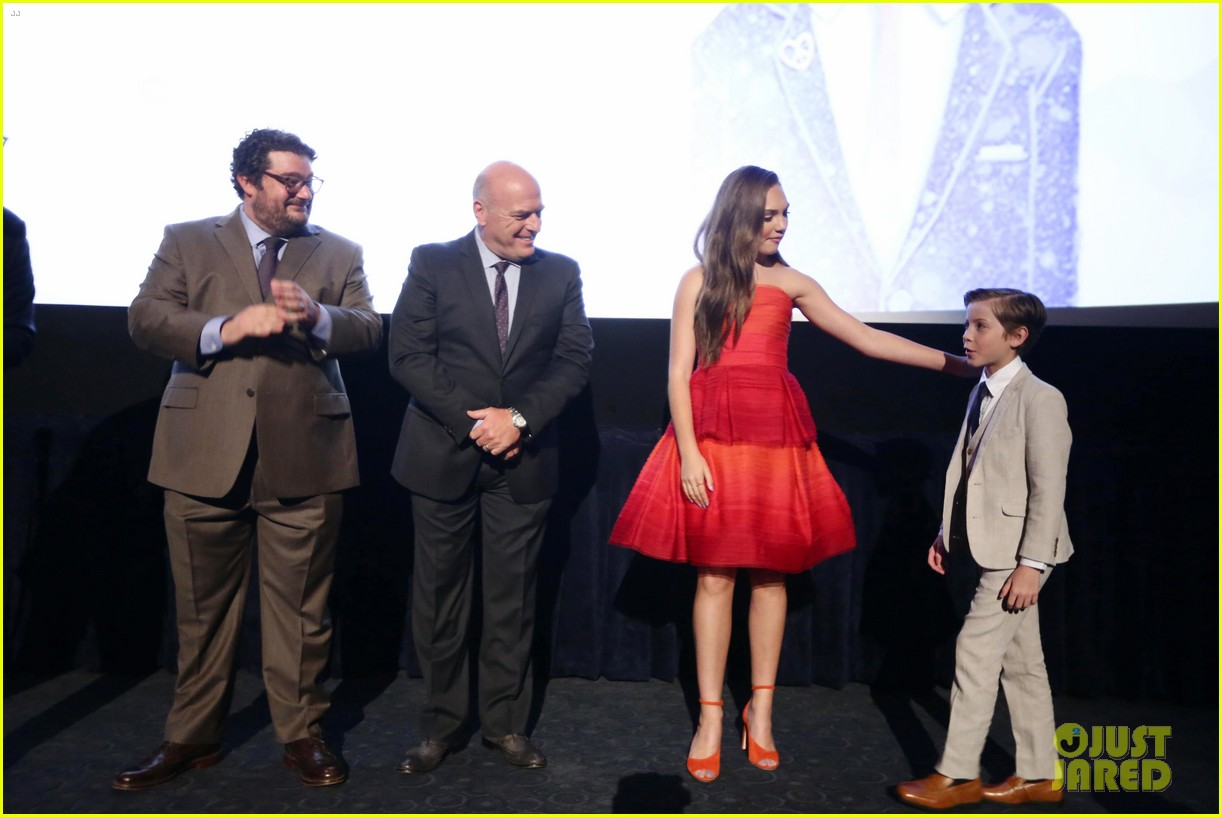 maddie ziegler joins her book of henry cast at la film festival premiere 043914939
