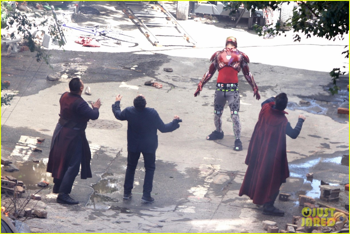 Infinity War Trailer Script