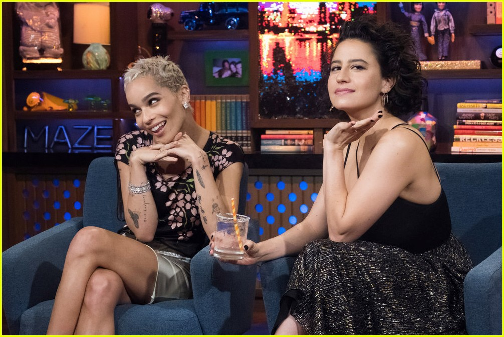 zoe kravitz confirms there was a feud on mad max set 013915332
