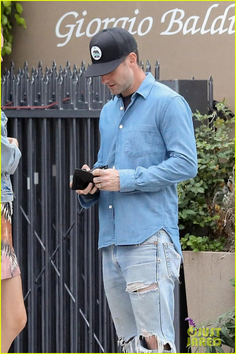 adam levine behati prinsloo flaunt cute pda on date night 533919961