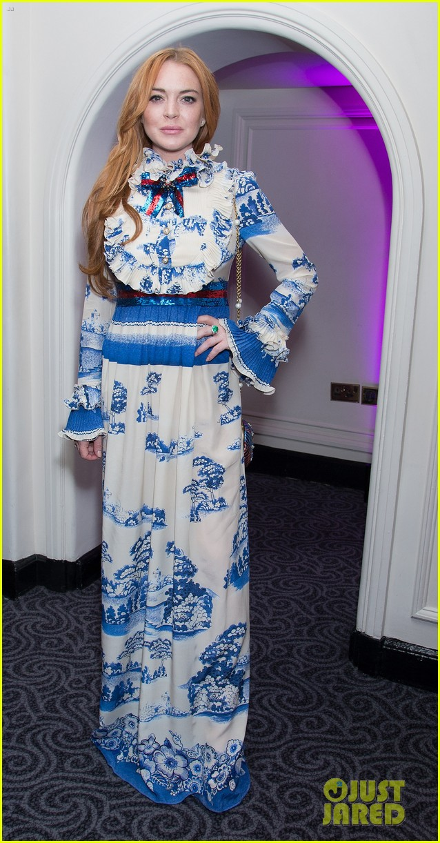 lindsay lohan stuns at british asian trusts ramadan event023914066