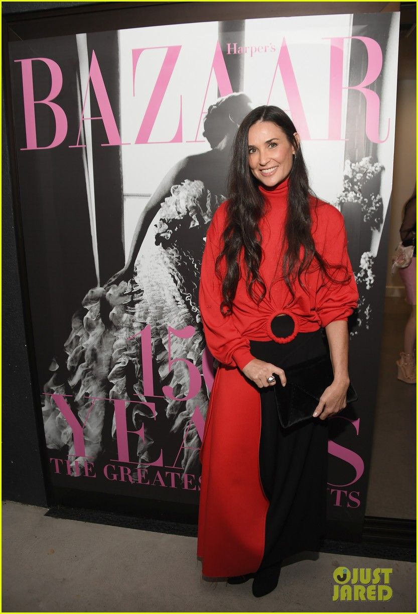 demi moore daughter tallulah joins her for friends book party 013911841