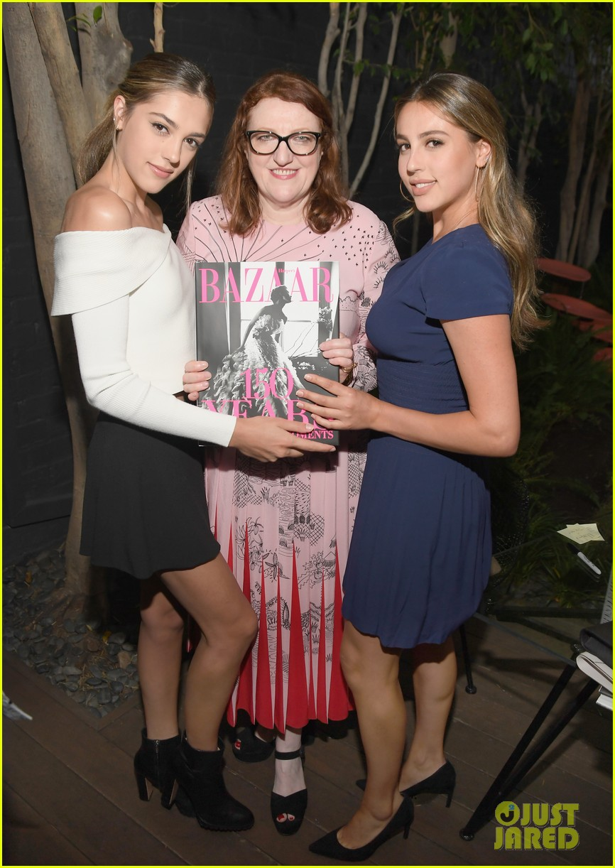 demi moore daughter tallulah joins her for friends book party 043911844