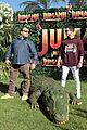 jack black nick jonas face off during jumanji promo 09