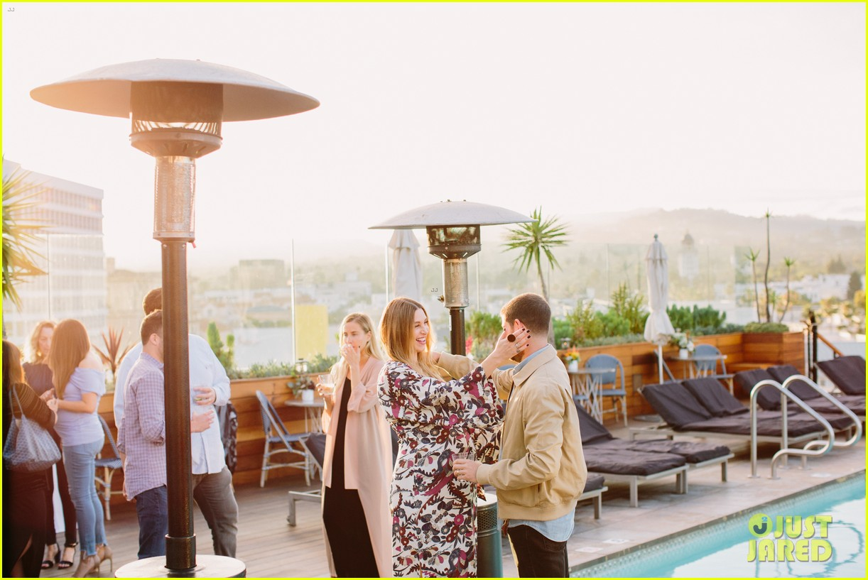 pregnant whitney port cradles baby bump at her baby shower 103915104