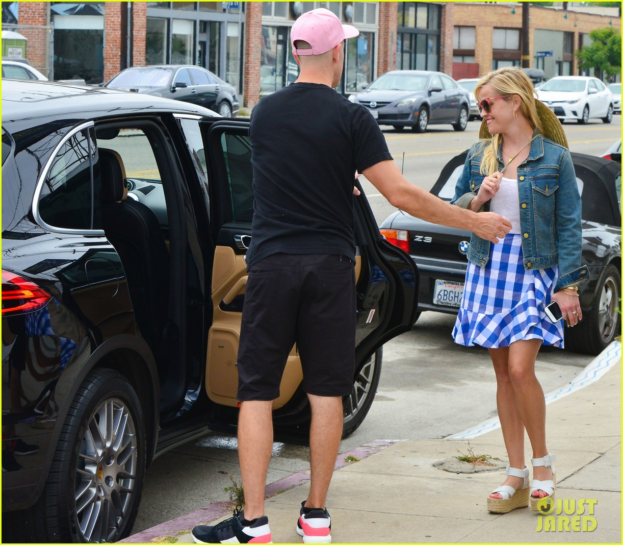 reese witherspoon jim toth lunch venice beach 053909111