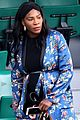 serena williams accentuates her baby bump at french open 03