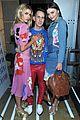 kristen stewart taylor lautner reunite backstage at moschino show 08