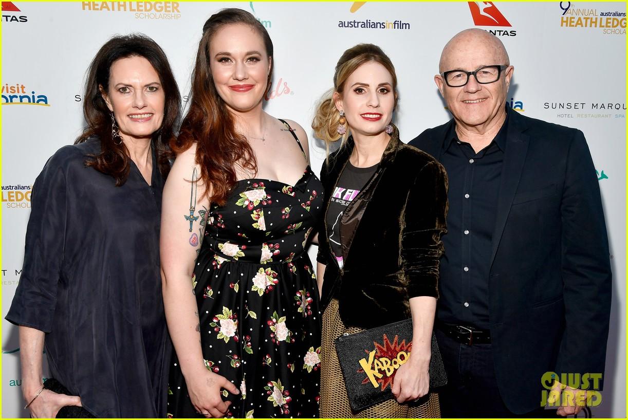 brenton thwaites joins heath ledgers family at australians in film scholarship dinner 153908133
