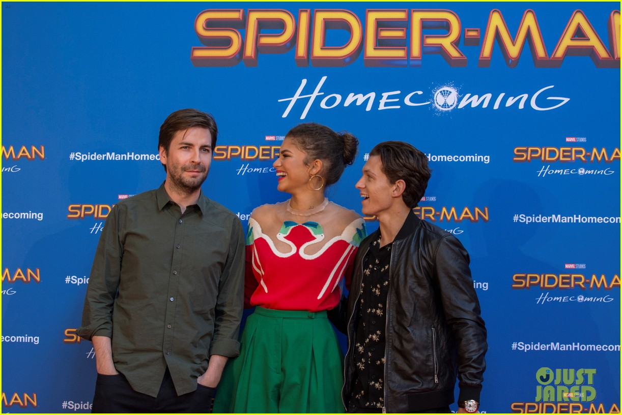 zendaya tom holland promote spiderman in barcelona 053916114