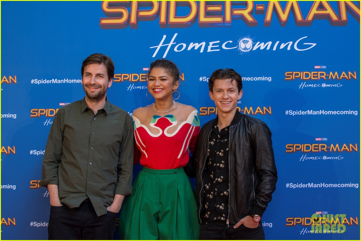 zendaya tom holland promote spiderman in barcelona 093916118