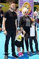 christina aguileras kids wear their emojis to emoji movie premiere 05