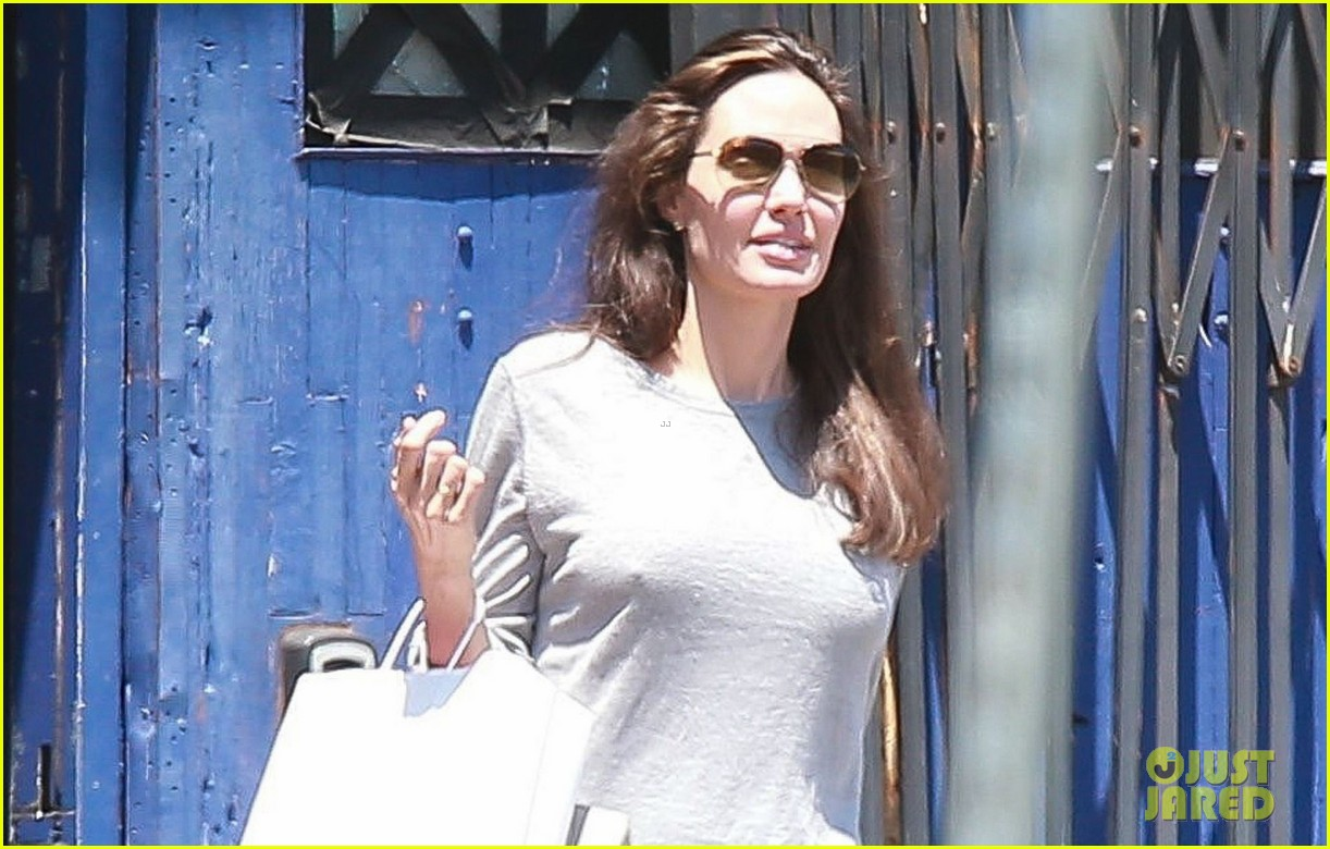 angelina jolie goes toy shopping with knox 043925015