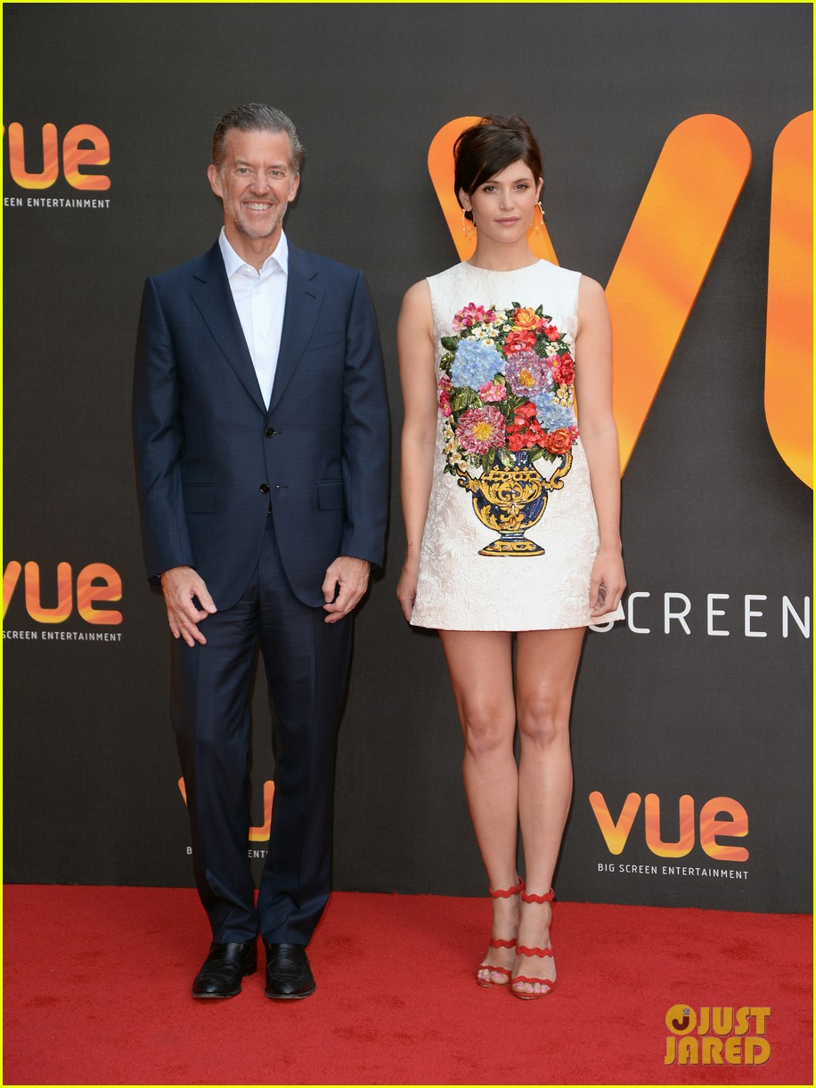 gemma arterton sparkles at re opening of londons vue west end venue 043926261
