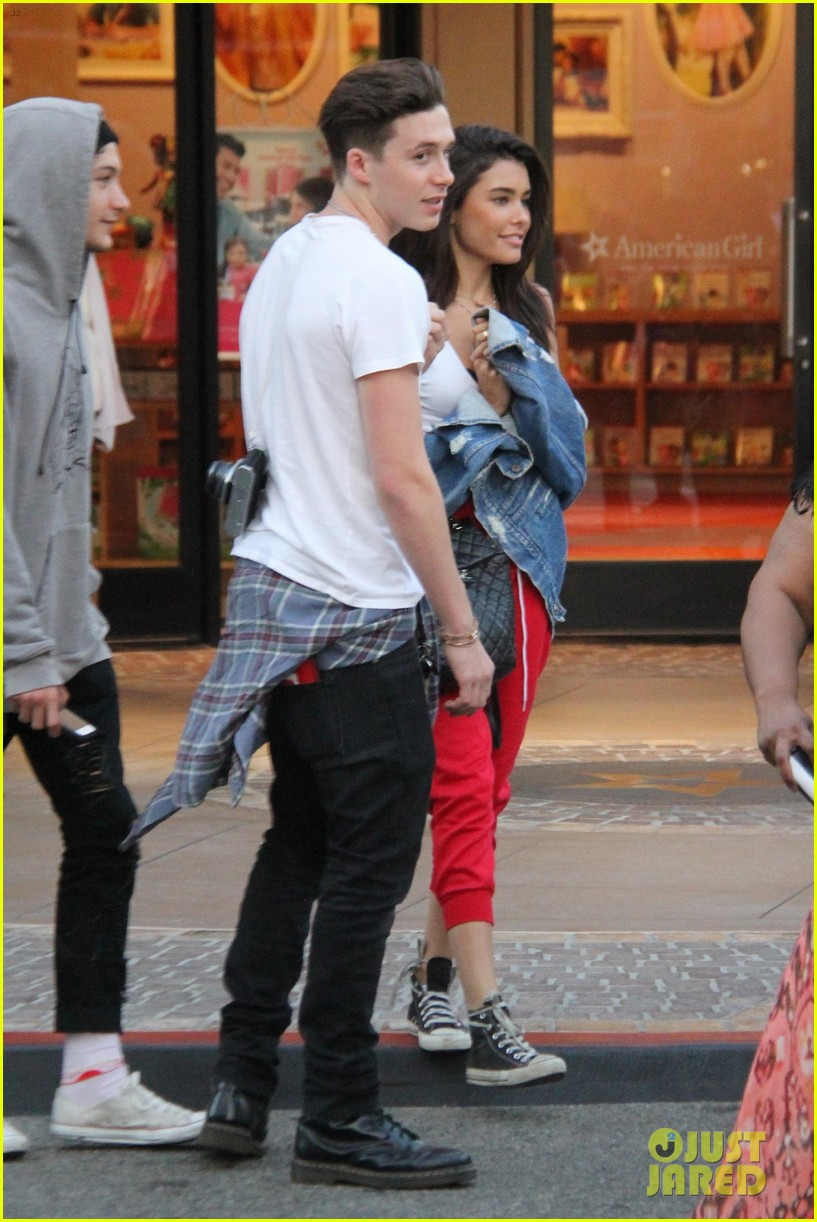 7ad98c69c7 Brooklyn Beckham   Madison Beer Go Out for Dinner   a Movie!  Photo ...